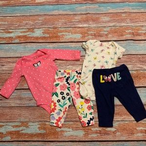Carter's Butterfly Set (4 Pieces)